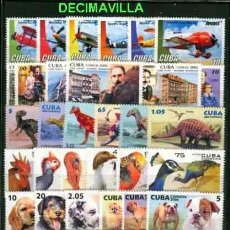 Sellos: CUBA/KUBA 2006, AÑO COMPLETO USADO. Lote 39373372