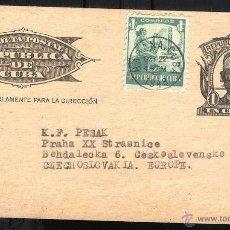 Sellos: CUBA 1948 ENTERO POSTAL PRIVADO CLUB FOTOGRAFICO DE CUBA USADO. Lote 39435186