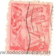 Sellos: 2CUBA-315. SELLO USADO CUBA. YVERT Nº 315. TABACO HABANO. Lote 39846561