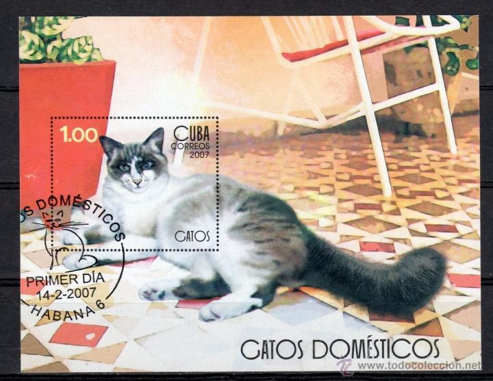 H.B. DE CUBA DEL AÑO 2007 (Sellos - Extranjero - América - Cuba)
