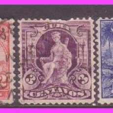 Francobolli: CUBA 1899 IVERT Nº 142 A 146 (O). Lote 40884206