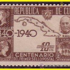 Sellos: CUBA CORREO AÉREO 1940 IVERT Nº 32 * *. Lote 41153677