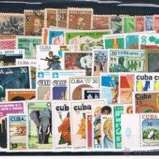 Sellos: ISLAS DEL CARIBE. CONJUNTO DE 53 SELLOS NUEVOS EN SERIES DEL CORREO AEREO. Lote 41836873
