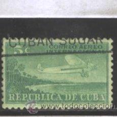 Sellos: CUBA 1931 - YVERT NRO. 4 PA - USADO. Lote 43711662