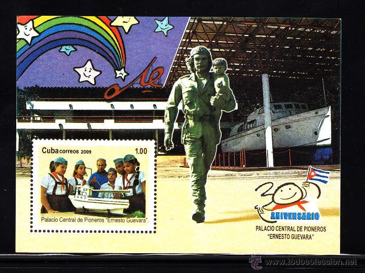CUBA HB 267** - AÑO 2009 - 30º ANIVERSARIO DEL PALACIO CENTRAL DE PIONEROS ERNESTO GUEVARA (Sellos - Extranjero - América - Cuba)