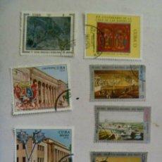 Sellos: LOTE DE 7 SELLOS DE CUBA : CONMEMORATIVOS.. Lote 45432391