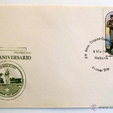 Sellos: CUBA. SOBRE FILATELICO 1º DIA. ANIVERSARIO TROPAS GUARDA FRONTERAS. LA HABANA 1978. MILITAR.. Lote 46137885