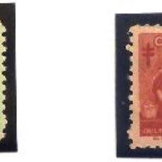 Sellos: SELLOS CUBA 1957. TUBERCULOSIS. 4 VALORES NUEVOS CON CHARNELA.. Lote 46539654
