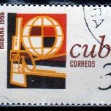 Sellos: CUBA 1966. ( W205) SERIE. CONFERENCIA TRICONTINENTAL DE LA HABANA *.MH. Lote 49955087
