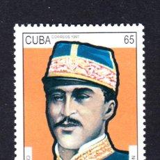 Sellos: CUBA 3629** - AÑO 1997 - CENTENARIO DE LA MUERTE DEL GENERAL GREGORIO LUPERON. Lote 50436858