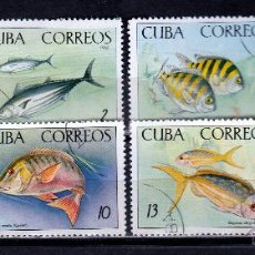 Sellos: CUBA 1965. (W280) SERIE. ACUARIO NACIONAL. *MNH. Lote 50780832