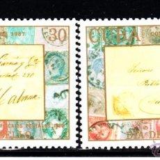 Sellos: CUBA 2771/72** - AÑO 1987 - DIA DEL SELLO. Lote 50829381