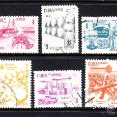 Sellos: CUBA 2336/45 - AÑO 1982 - EXPORTACIONES CUBANAS. Lote 50939509