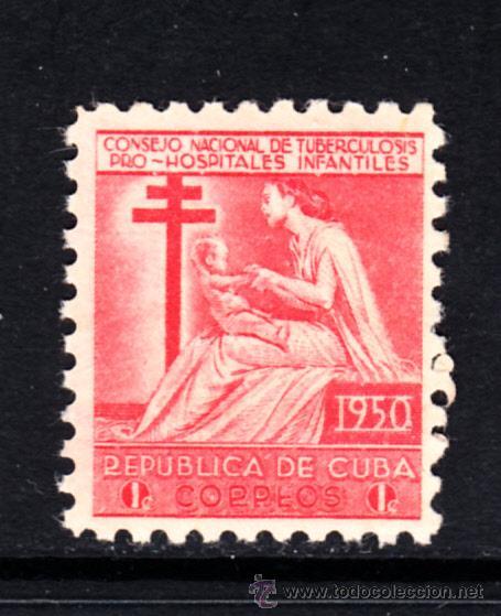CUBA BENEFICENCIA 10** - AÑO 1950 - PRO HOSPITAL INFANTIL (Sellos - Extranjero - América - Cuba)