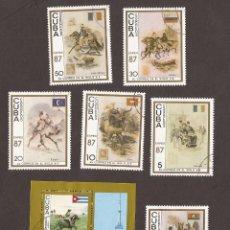 Sellos: AMG-19_CUBA SELLOS EL CORREO DEL SIGLO XIX 1987. Lote 51603089