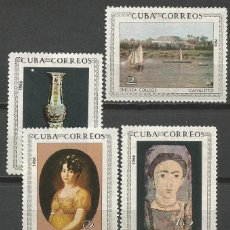 Sellos: CUBA YVERT NUM. 971/974 * SERIE COMPLETA CON FIJASELLOS. Lote 51772949