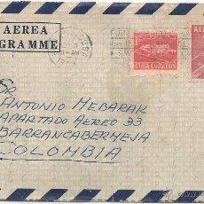 Sellos: 1959 - CORREO AÉREO HISTORIA POSTAL - CUBA. Lote 51981735