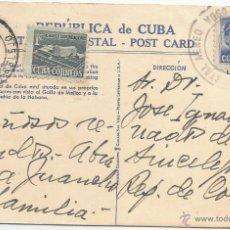 Sellos: 1953 - CORREO AÉREO HISTORIA POSTAL - CUBA. Lote 51981764