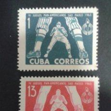 Sellos: SELLOS DE CUBA. DEPORTES. BEISBOL.YVERT 663/4. SERIE COMPLETA NUEVA SIN CHARNELA.. Lote 53583207
