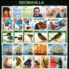 Sellos: CUBA/KUBA 1996, AÑO COMPLETO USADO. Lote 54096052