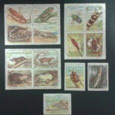 Sellos: SELLOS DE CUBA. FAUNA YVERT 642/56. SERIE COMPLETA SIN GOMA.. Lote 54277177