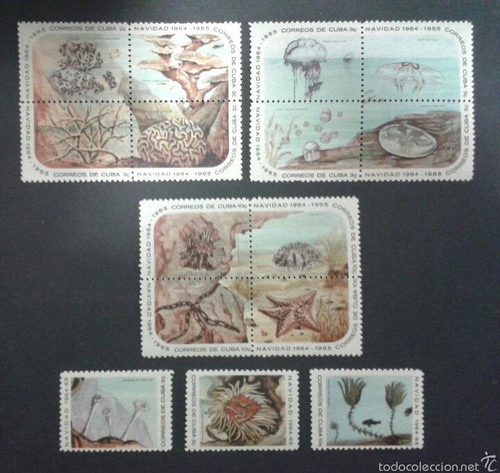 SELLOS DE CUBA. FAUNA. YVERT 790/804. SERIE COMPLETA NUEVA SIN CHARNELA. (Sellos - Extranjero - América - Cuba)
