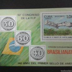 Sellos: SELLOS DE CUBA. AVIONES. YVERT HB-71. SERIE COMPLETA NUEVA SIN CHARNELA.. Lote 54296969