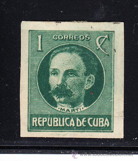 CUBA 184A* - AÑO 1925 - JOSE MARTI (Sellos - Extranjero - América - Cuba)