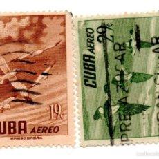 Sellos: CUBA 1956-CORREO AEREO- N.500/502C- -USADOS . Lote 55938274