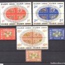 Sellos: CUBA 535/49* - AÑO 1960 - NAVIDAD - FLORA - FLORES. Lote 65445838
