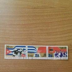 Sellos: REVOLUCIÓN CUBANA. Lote 65454350