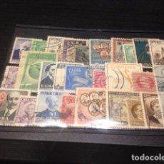 Sellos: LOTE 28 SELLOS DE CUBA CIRCULADOS. Lote 68869449