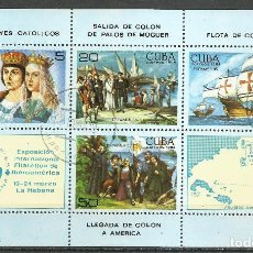 Timbres: CUBA - 1984 - MICHEL 2894/2897 - USADO . Lote 140065689