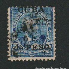 Sellos: CUBA 1899.SELLO DE ESTADOS UNIDOS 5 CENT.SOBRECARGADO CUBA 5 C.DE PESO.YVERT 140.USADO.. Lote 77290069