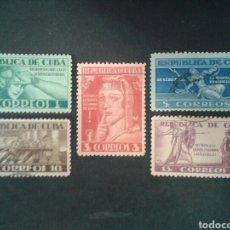 Sellos: CUBA. 280/4. SERIE COMPLETA USADA.. Lote 86412932