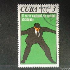 Sellos: CUBA. 1640. SERIE COMPLETA USADA. DEPORTES. BÉISBOL. Lote 86614758