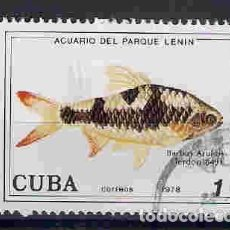 Sellos: PEZ BARBO. CUBA. SELLO AÑO 1978. Lote 206938678