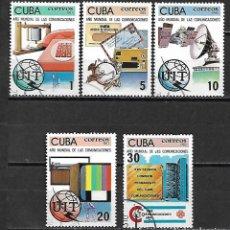 Sellos: CUBA SERIE COMPLETA DE 1983. Lote 95150999