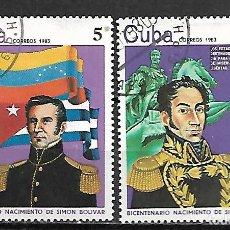 Sellos: CUBA SERIE COMPLETA DE 1983. Lote 95192083