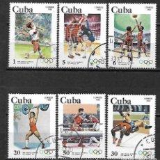 Sellos: CUBA SERIE COMPLETA DE 1982. Lote 95192327