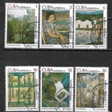 Sellos: CUBA SERIE COMPLETA MATASELLADA DE 1979. Lote 95196055