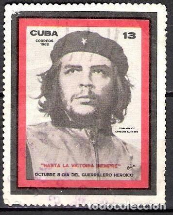 CUBA 1968 - USADO (Sellos - Extranjero - América - Cuba)