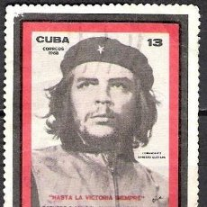 Sellos: CUBA 1968 - USADO. Lote 172111405