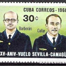 Sellos: CUBA 1968 - NUEVO. Lote 98749335