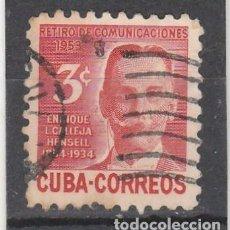 Sellos: CUBA 1954 - YVERT NRO. 398 - USADO. Lote 103774787