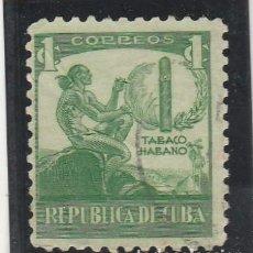 Sellos: CUBA 1939 - YVERT NRO. 257 - USADO - DOBLEZ. Lote 103775099