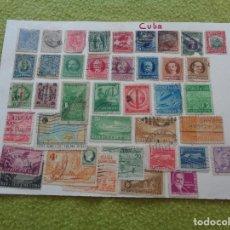 Sellos: LOTE DE ANTIGUOS SELLOS DE CUBA. Lote 104030939