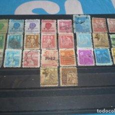 Sellos: CUBA .- 26 SELLOS ANTITUBERCULOSOS . Lote 107961463