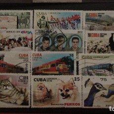 Sellos: LOTE SELLOS CUBA ACTUALES. Lote 115185247