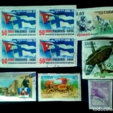 Sellos: LOTE 9 SELLOS USADOS DE CUBA. Lote 115317659